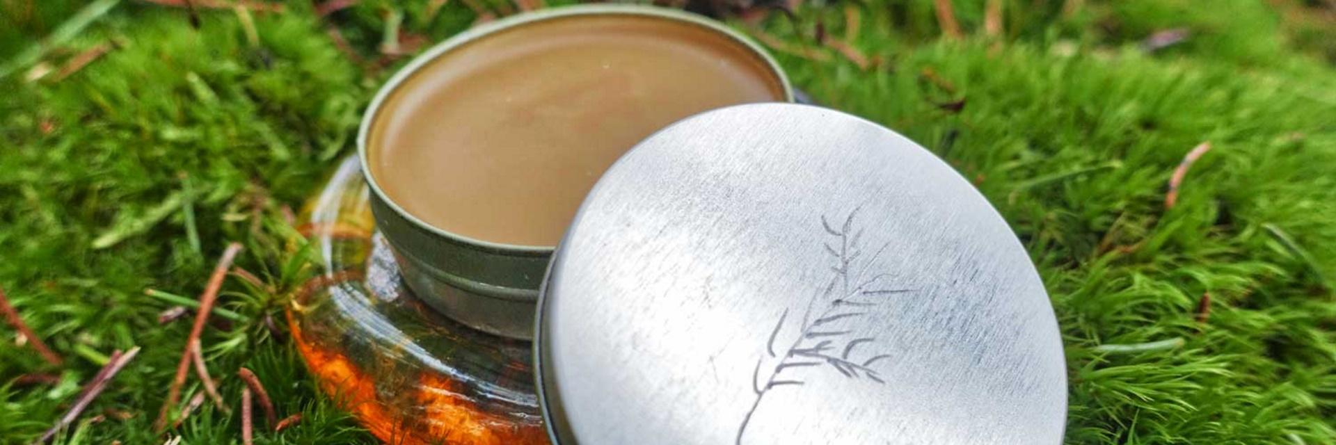 Make your own natural glass souvenir